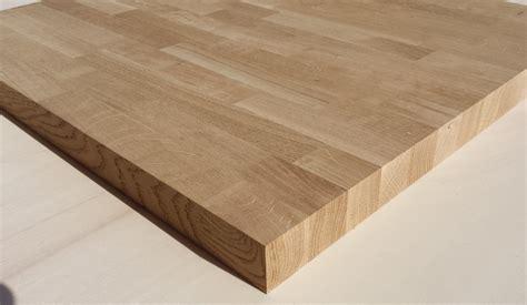 tavole di legno lamellare sconto 25 piano tavolino in lamellare rovere mm 40 x 600