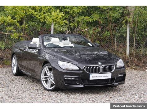 used 2014 bmw 6 series convertible 3 0td 640d m sport for
