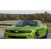 HD Hintergrundbilder Auto Gr&252n Cars Chevrolet Camaro