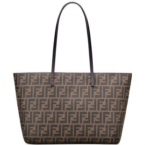 Fendi Tote Bag fendi tote bag tapestry shoulder bag