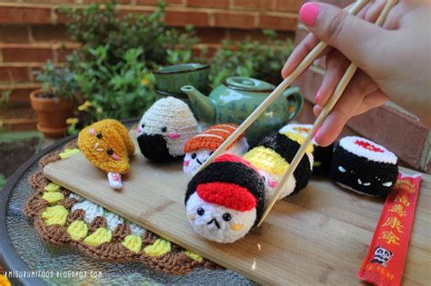 amigurumi food amigurumi food sushi amigurumi food