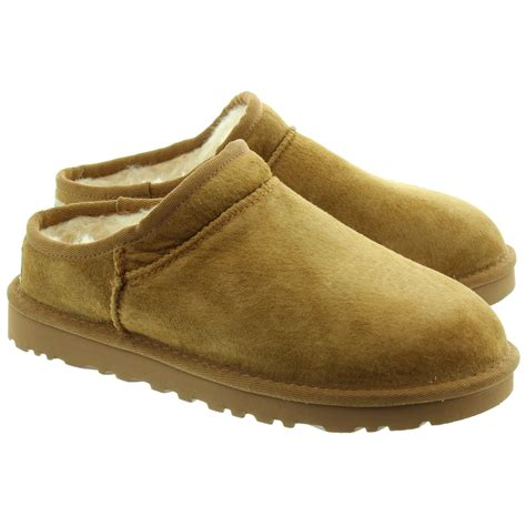ugh slippers ugg classic slippers in chestnut in chestnut
