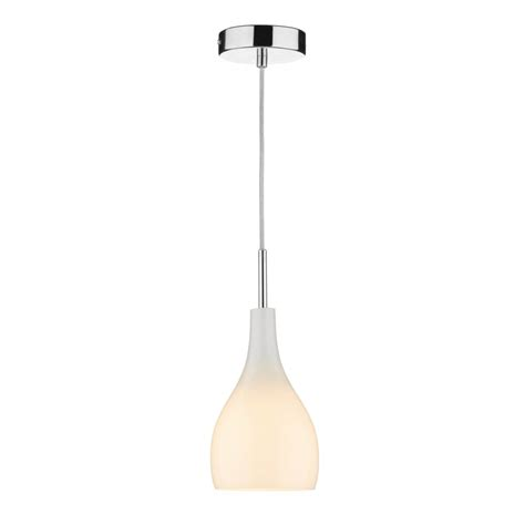 Small Pendant Lights Uk Soho Single Opal White Glass Mini Pendant Light On Clear Cable