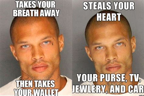 Hot Convict Meme - hot mug shot guy is out of prison coming to a billboard