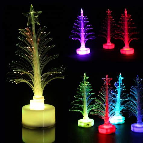 desktop multi color twinkling led tree with decor lazada ph