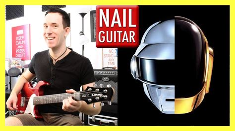 tutorial guitar get lucky get lucky daft punk guitar lesson easy how to play