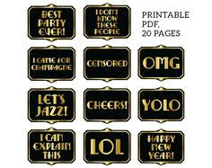 printable great gatsby photo booth props gatsby photo booth props printable pdf great by