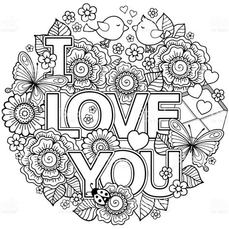 coloring pages for adults vector vector coloring page for adult round shape made of
