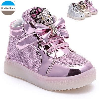 2018 new 1 to 10 years fashion shoes baby light shoes sneakers children s