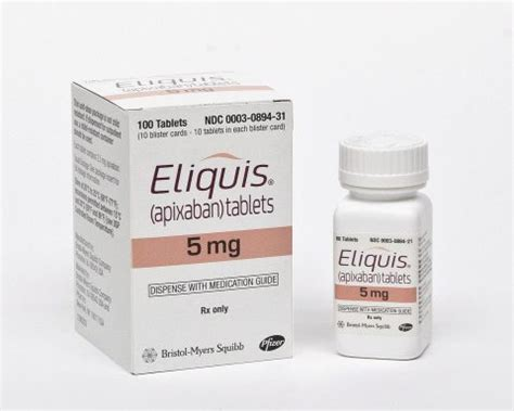 blood thinners pradaxa, xarelto have new competitor in eliquis