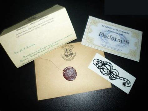 Personalized Hogwarts Acceptance Letter Gift Gift Harry Potter Hogwarts Acceptance Letter Personalized Free Tatttoo And Ticket Simon Http