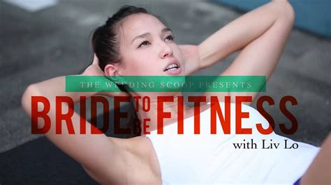liv lo youtube bride to be fitness workout with liv lo episode 5