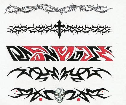 tribal tattoos wrist bands 30 best tribal band stencil images on