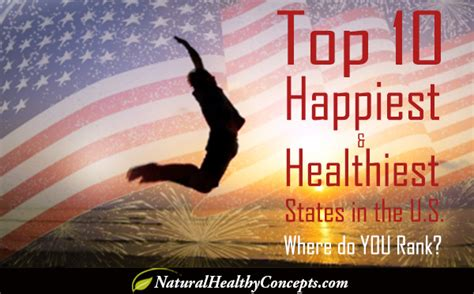 alohacom live your healthiest happiest is your state one of the happiest and healthiest in the