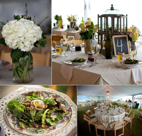 backyard wedding catering elegant outdoor wedding catering tablescapes and mason jar