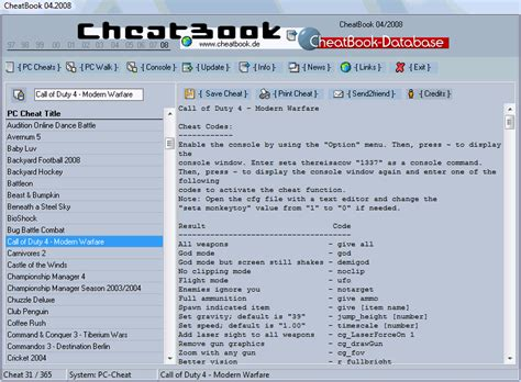 cheatbook 01 2008 issue january 2008 a cheat code tracker with cheatbook issue april 2008 04 2008 cheats hints