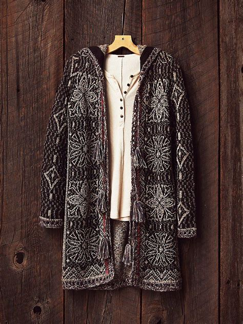 boho cardigan booties style fall winter american hippie boh 233 me boho fall style sweater cardigan