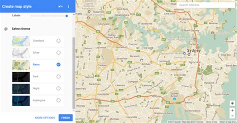 themes google maps creating a custom theme for your map wp google maps