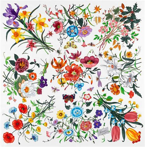 flower pattern gucci gucci to create its own garden for chelsea flower show