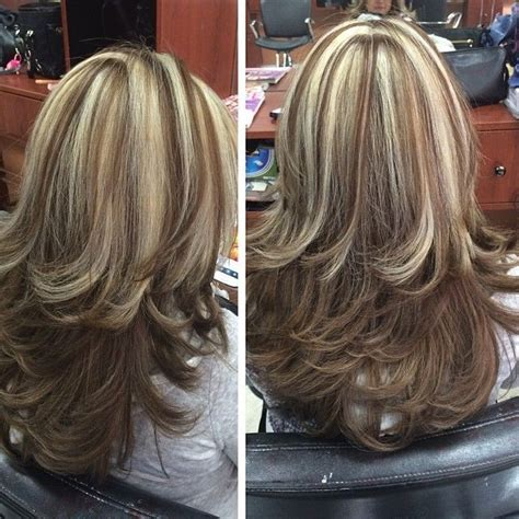chunky blonde highlights for grey hair 94 best going grey hair images on pinterest