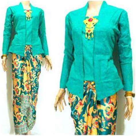 Kebaya Batik Cavali Tosca kebaya wisuda model terbaru pilihan warna terbaik trend baju kebaya