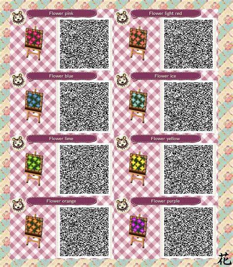 acnl flower qr codes paths acnl qr code flower beds acnl qr codes pinterest qr