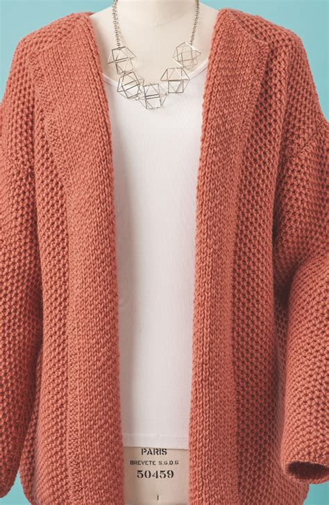 cardigan pattern easy simple knit cardigan pattern full zip sweater