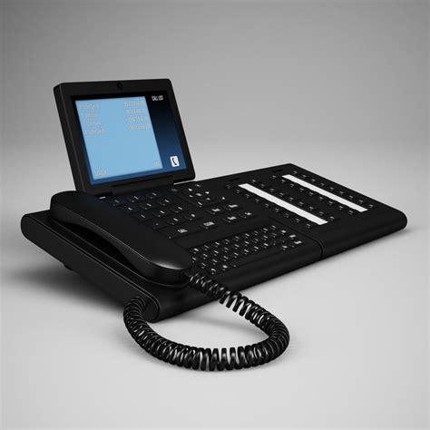 Office Desk Phone 3d Office Desk Telephone 21 Model