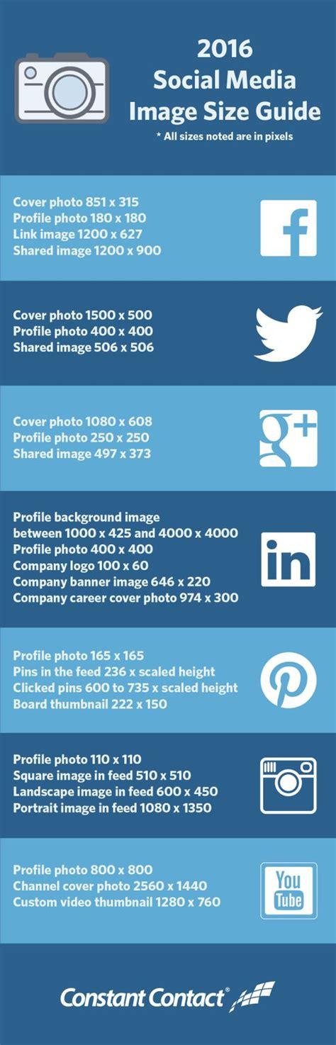 infografia tamaño imagenes redes sociales tama 241 o de las im 225 genes en todas las redes sociales