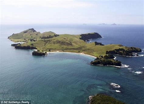 slipper island for sale billionairess splurges 7m on new zealand island