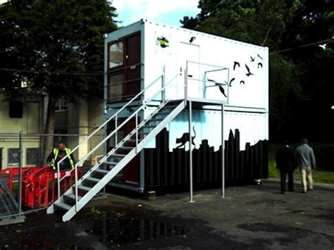 buy container house uk shipping container homes ease uk homeless crisis inhabitat green design