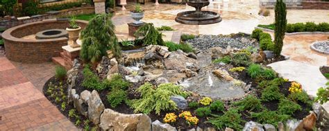 landscape water features long island water features pool landscaping waterfalls