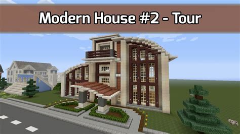 how to pack a house let s build modern house 2 in minecraft tour video city texture pack youtube