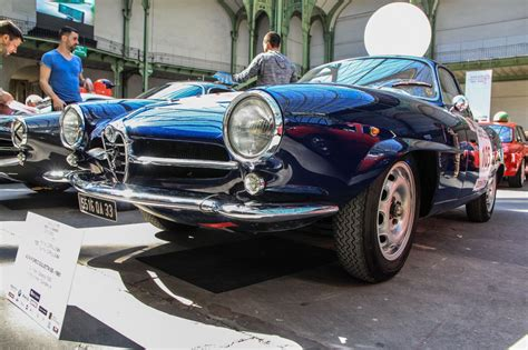 maserati fiat alfa romeo giulietta ss 1961 bleue lancia fiat