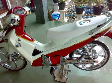 Lu Tembak Motor Supra X 125 honda supra x 125 modification