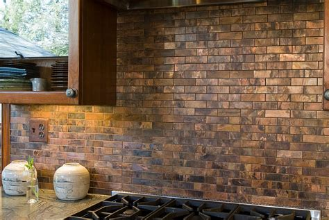 copper kitchen backsplash tiles 20 copper backsplash ideas that add glitter and glam to