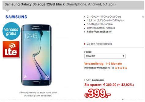 Samsung Galaxy S6 Vertrag 893 by Galaxy S6 Edge Ohne Vertrag Preis 159 Gebraucht