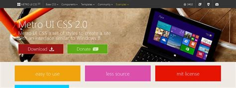 bootstrap themes free metro 50 free bootstrap templates themes