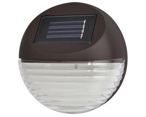 Patriot Lighting 174 Brown Solar Deck Light 2 Pack