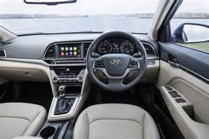Hyundai Inside 2016 Hyundai Elantra Review Australian Launch