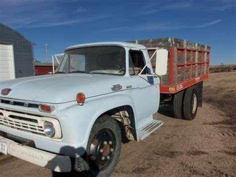 Sale Lem Fox 600 Gr 1966 ford f600 grain truck
