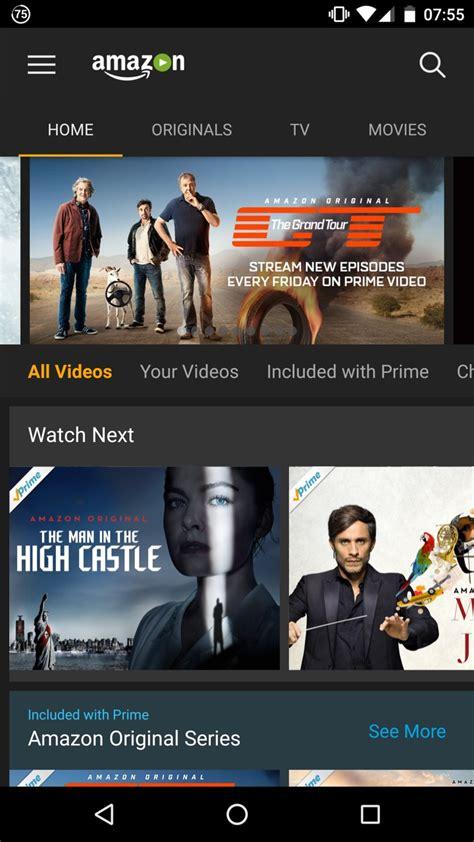 amazon movie amazon com amazon prime video appstore for android