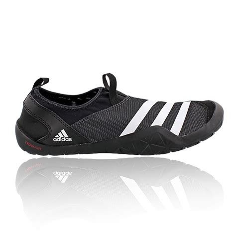 adidas jawpaw mens black climacool slip on outdoors walking hiking shoes ebay