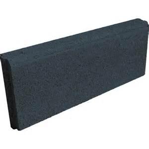 bordure droite b 233 ton 50 x 16 cm noir castorama