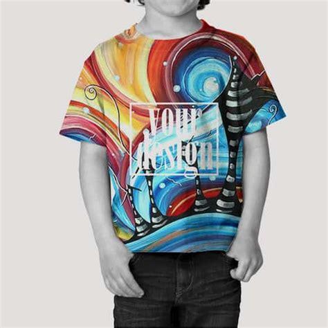 Kaos Kaki Printing Anak 2 Sisa Depan Belakang toddler tshirt fullprint 1
