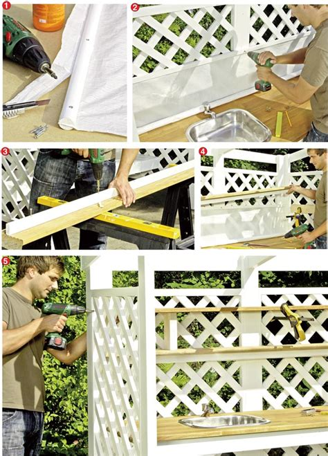 cucina fai da te legno costruire una cucina da esterno in legno d abete