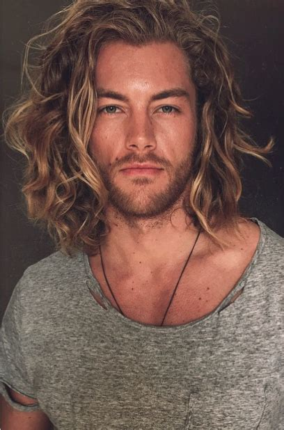 top long haired male models 32 gorgeous top male models with long hair long haired