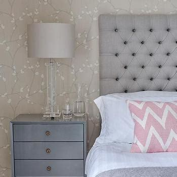 bedroom roman emperor headboard to complement your bed taupe and gray bedroom with bernhardt cabrillo nailhead