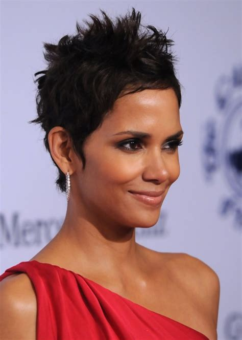 style pixie like halle berry halle berry hairstyle side view of black pixie cut