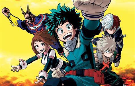 film seri heroes seri boku no hero academia akan mendapatkan adaptasi